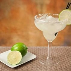 You don't have to completely toss your diet in the trash to enjoy a margarita. And it's so much tastier than the bottled stuff!