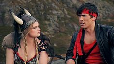Kung Fury, he's a cop.  From the future.