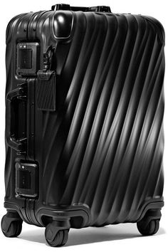 Tumi - International Carry-on Aluminum Suitcase - Black - one size