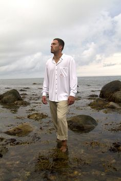 #MadeinUSA @montauktackle - Mens Performance Button Down only at @Montauk Tackle - www.montauktackle.com/
