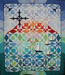Afbeeldingsresultaat voor storm at sea quilt