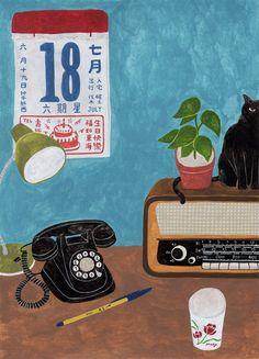 插畫家筆下的在地台灣,濃濃人情味讓都市人看了都落淚 | VidaOrange
