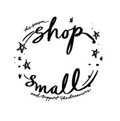 Every time you SHOP SMALL an actual person does a happy dance.   This weekend weve come together with almost 50 other family centric small businesses to bring you a savings packed small shopping guide you can feel good about indulging in.   Shopping small is shopping with heart because every time you make a purchase youre supporting a dream.  So go ahead go crazy you dream maker you.  Find all the details to shop with these wonderful small businesses by clicking through the link in our bio…