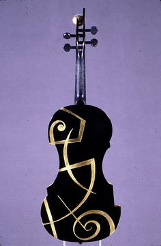 "Guy Rabut, ""The Black Violin"" (back) by Museum of Making Music, via Flickr"