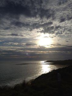 Sunset at Cape Paterson, Victoria  Sent via twitter: @le_deb  23/12/2012