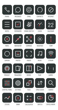 Primitive Icons