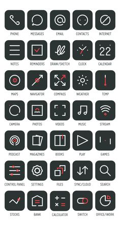 Primitive Icons on Behance