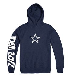 AMERICAN FOOTBALL DALLAS COWBOYS WE DEM BOYZ YOUTH SLEEVE PRINT HOODY   DallasCowboys Hoody dc7459f10