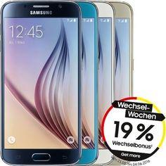 Samsung Galaxy S6 G920F 32GB Android Handy Smartphone ohne Vertrag LTE 4G NEU!
