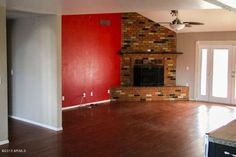 Tips for Realtors: Paint the Red Wall!  When you're trying to sell bold red is not the way to go!