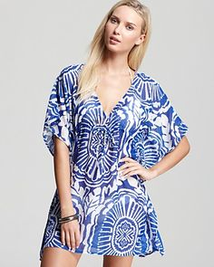 df017c11f45d5 Echo Medallion Print Butterfly Swimsuit Cover Up Women - Swimsuits &  Cover-Ups - Bloomingdale's