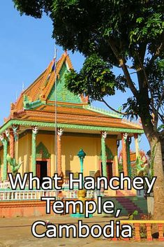Visit Wat Hanchey Temple, Cambodia on a Mekong River cruise with Scenic.