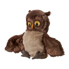 I bought this ridiculously cute owl puppet at IKEA today for $5 for a child in my life. I noticed they have owl bedding too - lots of fun for young bird lovers!