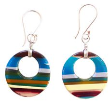 ACCESSORIES: My Upcycled Surfboard Earrings on Lifestyle Mirror for Earth Day!