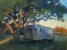 "I was pleased to learn that my painting of our Sweet Potato, ""Guest House"" (oil on linen, 18""x24""), painted at Plein Air Texas last year, won third place this week at Airstream's Alumapalooza 9 Fine Art Invitational at Riverside Art Center. #patricksaunders #patricksaundersfinearts #patricksaunderfineart #patsaunders #patsaundersart #pleinairstreaming #saundersfinearts #airstreamart #airstreampainting #airstream #liveriveted #myliverivetedlife #oilpainting #alumapalooza9"