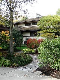 Henderson House east elevation