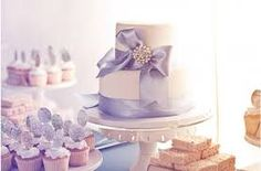 Image result for wedding cakes pale purple