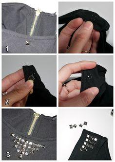 DIY : La robe cloutée