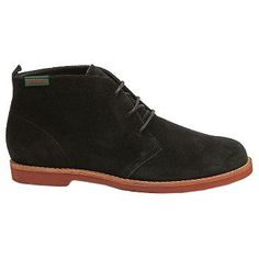 Women's Bass Elspeth Chukka Boot Black Suede FamousFootwear.com