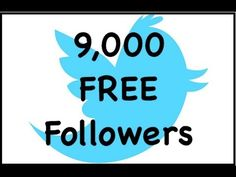 9,000 FREE Twitter Followers Promo on CommunityClerks | The Planets Largest SEO Marketplace Blog    http://communityclerks.com/free-money/free-twitter-followers/      -NO EXCHANGE SITES!!  -NO FOLLOWING OTHER PEOPLE!!    Choose Between MANY Other Services at our Marketplace- Not just Twitter Followers     You can Choose to get 5,000 FREE Youtube Views Instead HERE:  http://communityclerks.com/free-money/5000-free-youtube-views-promo/
