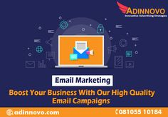 Quality over quantity - Emails may be cost-efficient but it's no excuse to not produce quality content to give to a targeted audience. Contact - +91-8105510184 Visit www.adinnovo.com #DigitalMarketing #SMSMarketing #VoiceMarketing #LeadGeneration #SMMmarketing #BusinessGrowth #Entrepruners #EmailMarketing #Startups