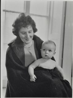 Mother and child c. 1950; Manor Gardens Centre Archives on eHive