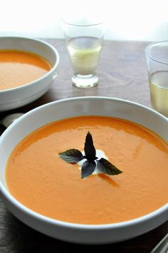 Chipotle Creamy Tomato Soup recipe- Farmgirl Gourmet- Lunch #freezercooking #soup #realfood
