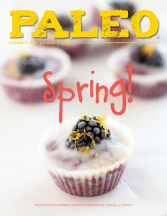 20 mouthwatering spring-inspired paleo recipes such as Apricot-Glazed Pork Loin Chops, Cod Piccata, Asian Salmon Salad, Lamb Burger Sliders, Herbed Sugar Snap Peas, Blackberry & Lemon Coconut Cups, and more! http://paleom.ag/pmspring15