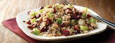 Minute® - Cranberry Pecan Multi-Grain Stuffing - I don't call this STUFFING, but it sound delicious!