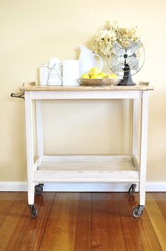 Ikea SNIGLAS Changing table makeover Would make great night stands