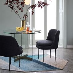 Calliope Glass Dining Table