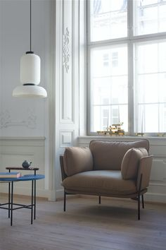 Cloud Chair by Luca Nichetto, 721 grams by Isabell Gatzen, Formakami Pendant and Palette Table by Jaime Hayon.