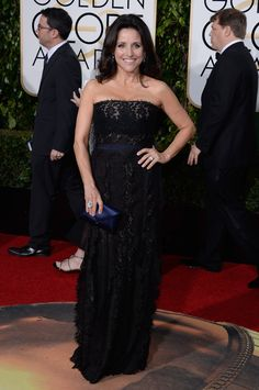 Julia Louis-Dreyfus with a Tyler Alexandra bag