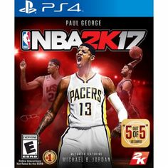 NBA 2K17 - PlayStation 4 - Front Zoom