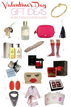 Valentine's Day Gift Guide - My Red Glasses | Fashion Through My Red Glasses From Roz Pactor