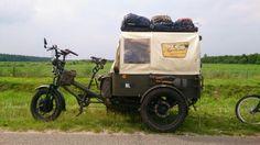 On the road, near Smilde (Drenthe)