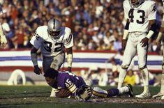 "Jack Tatum (""The Assassin"") | Oakland Raiders (Sends Sammy White's helmet flying during Super Bowl XI)."