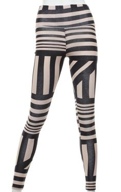 Striped Leggings | Hot Pants & Leggings | Leggings & Capris | | Bullet Boutfits Online Shop
