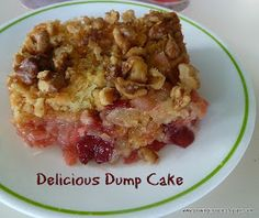 Growing in Grace: Delicious Dump Cake