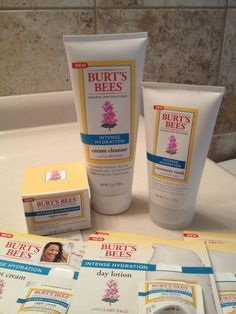Burt's Bees Intense Hydration Line