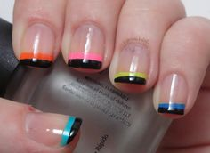Life and Polish: Neon Funky French