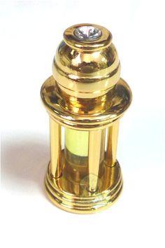 """Parfum Musc d'or """"Aladin"""" en bouteille métallique…"""