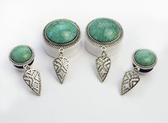 Aztec Plugs #396 - Fux Jewellery