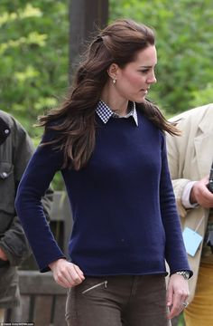 According to a spokesman for the charity, whose patron is Princess Anne, Kate read about its work in Country Life and approached them to see if she could come down to one of its farms