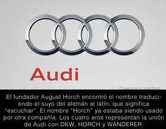 Significado logo Audi