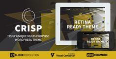Crisp Multi-Purpose Wordpress Theme - Creative WordPress
