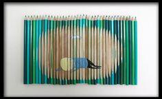 Illustrated pencils