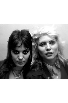 Too much awesome in one photo. Joan Jett & Debbie Harry