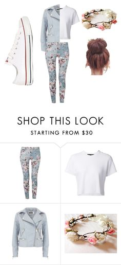 """""""roses#2"""" by nosaj14 ❤ liked on Polyvore featuring 7 For All Mankind, Proenza Schouler, Mint Velvet and Converse"""
