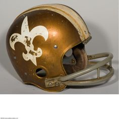 1967 Saints Helmet wow old Football Usa, Best Football Team, Watch Football, National Football League, Football Helmets, Football Stuff, Football Season, Nfl Saints, New Orleans Saints Football